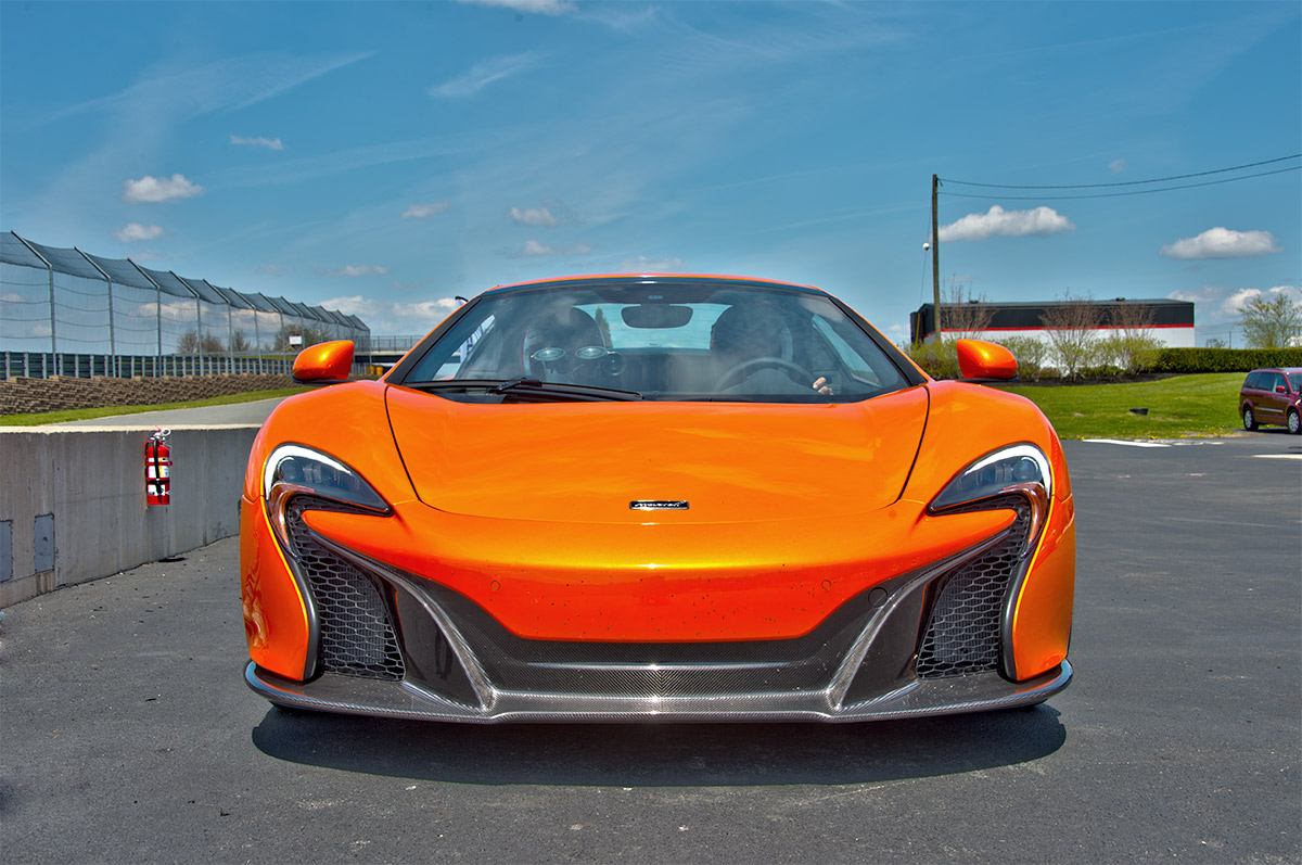 2015 McLaren 650s at Monticello Motor Club