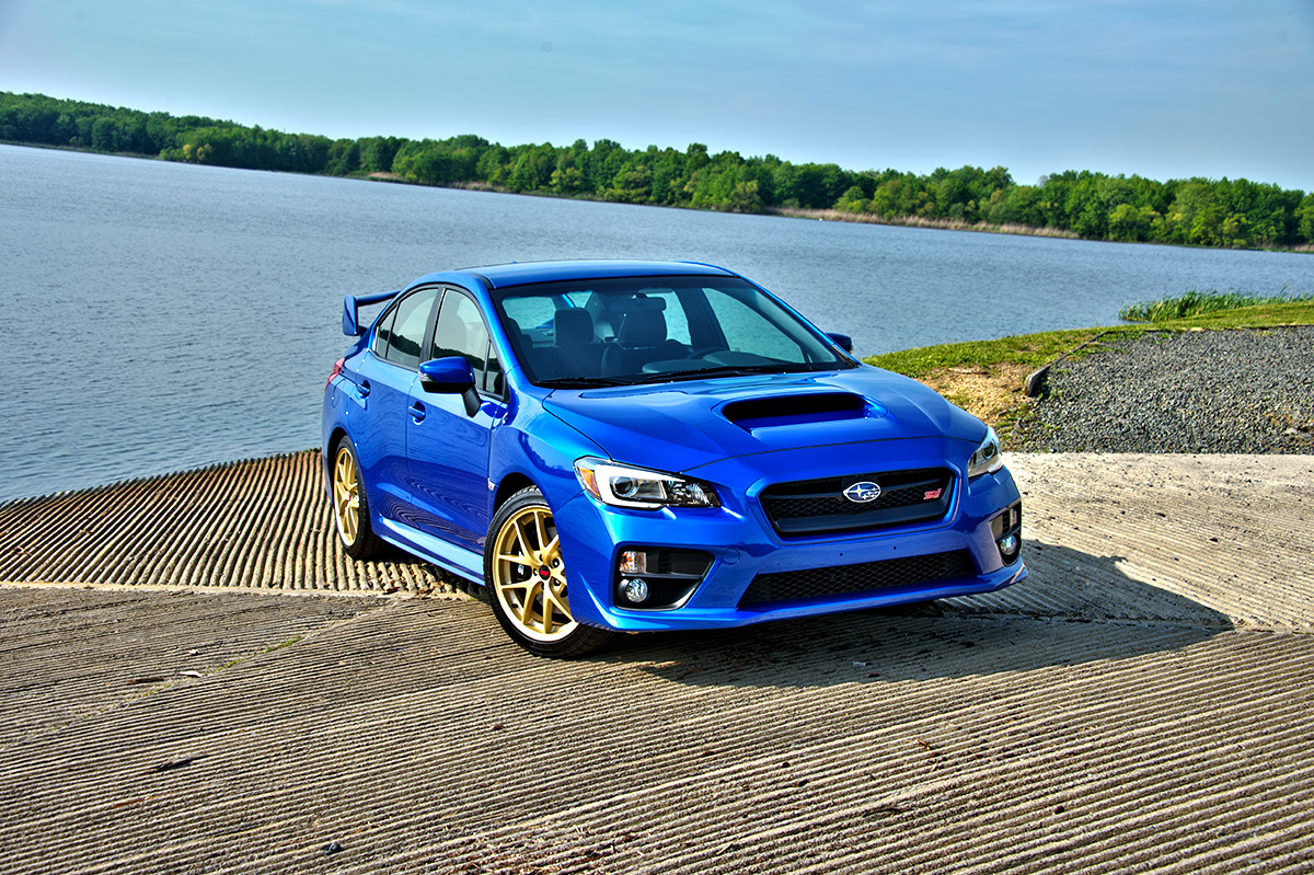 2015 Subaru WRX STI vs.                                  2014 Mitsubishi Lancer Evolution MR